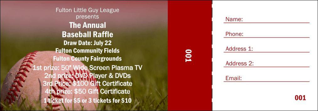 Raffle Ticket 002