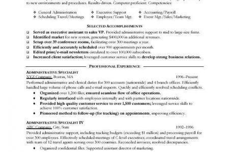 receptionist job objective resume objective for receptionist ...