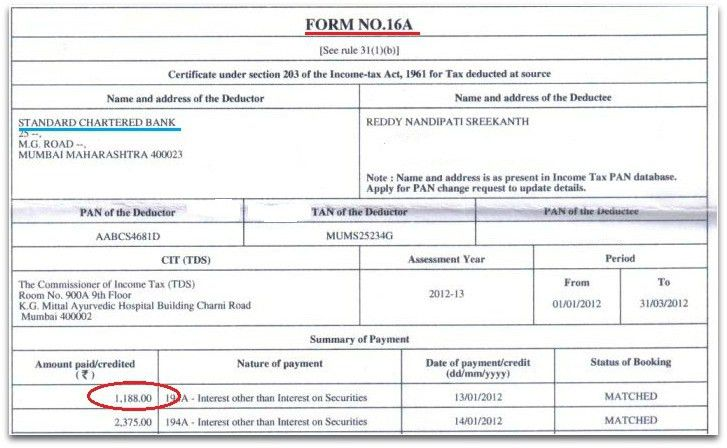 Understanding Form 16, Form 16A & Form 26AS (Tax filing)