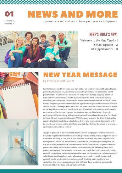 Newsletter Templates - Canva