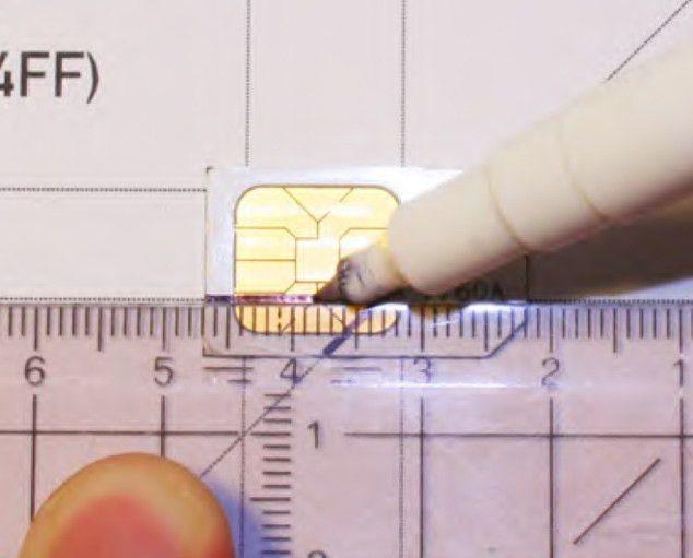 How To Transform Mini/Micro SIM Card Into Nano SIM iPhone 5