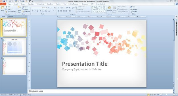 powerpoint presentation template designs free powerpoint ...