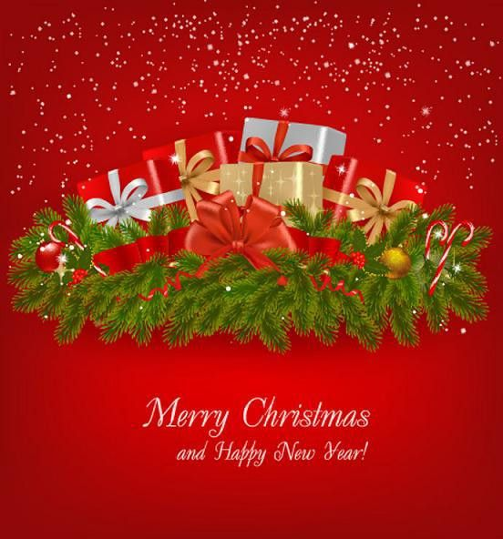 7 Best Images of Free Email Christmas Greeting Cards - Rose ...