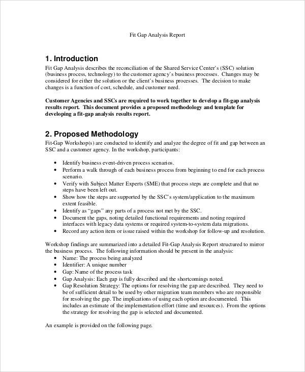 Gap Analysis Template. Coursework Gap Analysis Template Excel ...