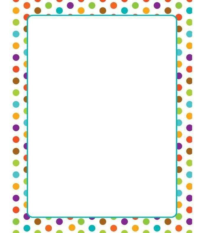 Free Printable Border Paper For Teachers - Template Update234.com ...