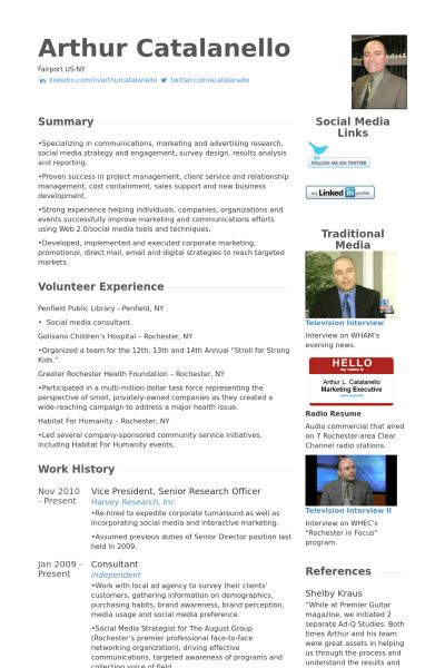 Research Officer Resume samples - VisualCV resume samples database