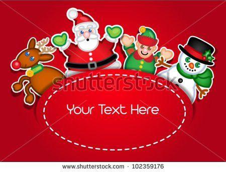 Christmas Designs Templates: Sets of vector cartoon christmas tree ...