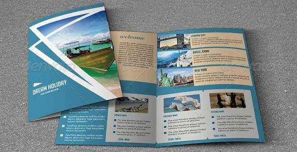 19 Beautiful Travel Brochure PSDs – Desiznworld