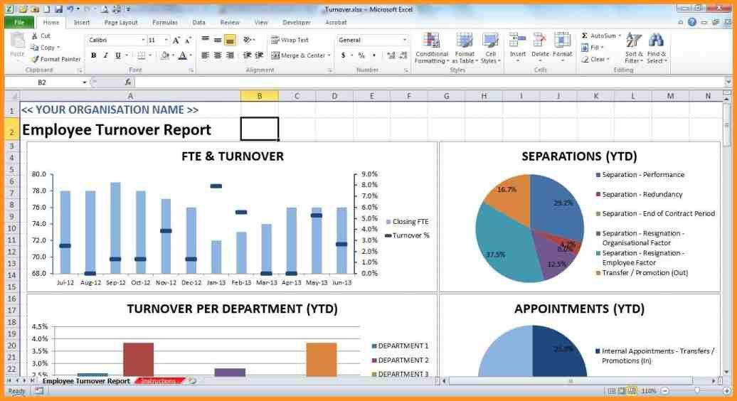 8+ report template excel | cook resume