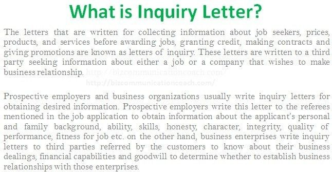 job enquiry letter sample - zrom