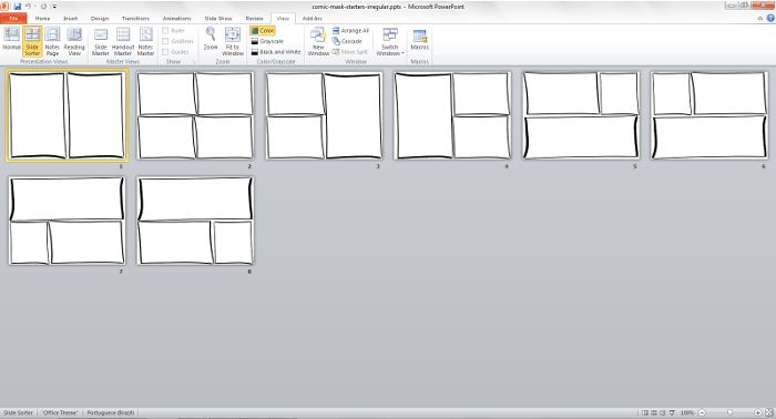 Response to Weekly Challenge: Design a Comic Book Template ...