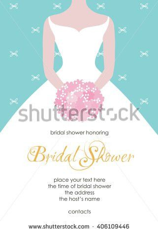 Bridal Shower Invitation Templates. Vintage Bridal Shower Tea ...