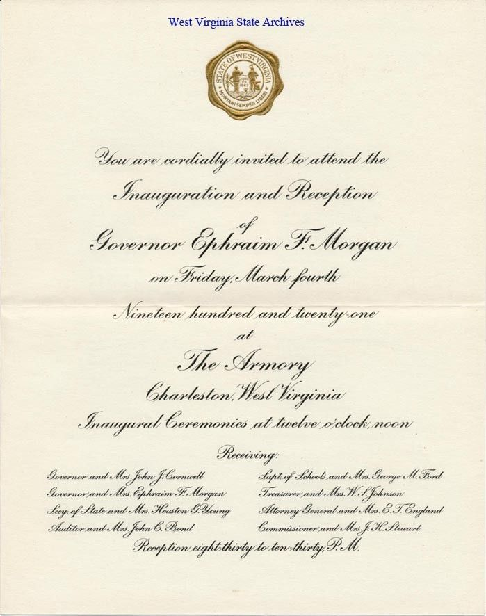 Gubernatoral Inaugurations