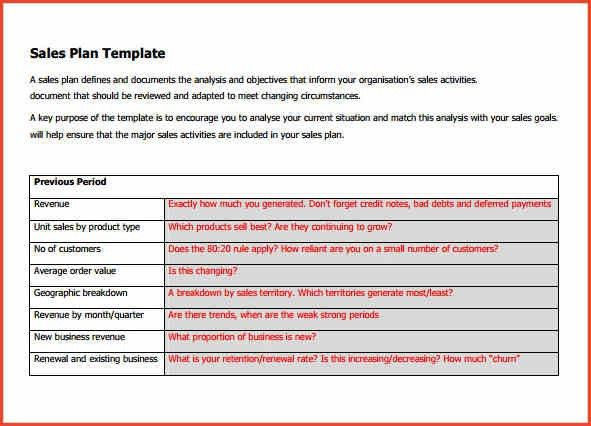 Sales Plan Templates. Sales Plan Template 60 Sales Plan Templates ...