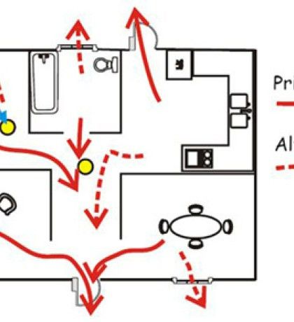 Fire Escape Plan Template Template On Printable Home Fire Escape ...