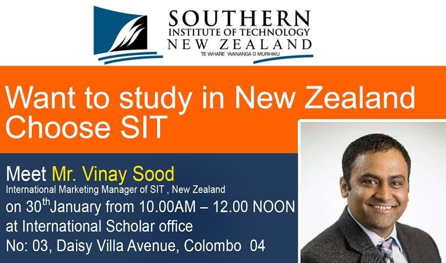 Want to study in New Zealand; Choose SIT | International Scholar ...