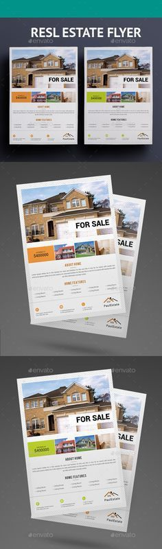 Real Estate Flyers | Real estate flyers, Real estate and Flyer ...