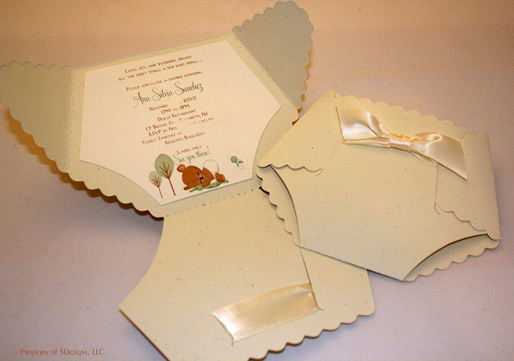 How To Make Baby Shower Invitations | Baby Shower Invitations