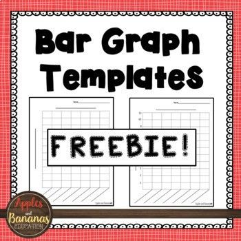 Bar Graph Templates by Apples and Bananas Education | TpT