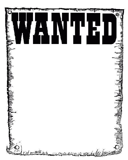 Most Wanted Sign Template. free wanted poster template client ...