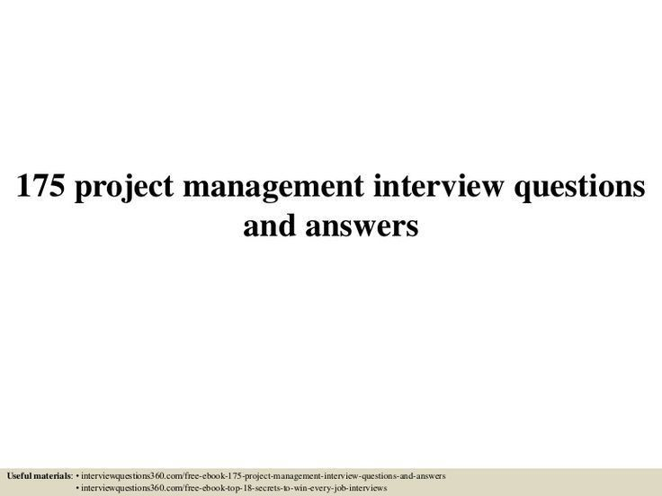 Best 25+ Interview questions and answers ideas on Pinterest ...