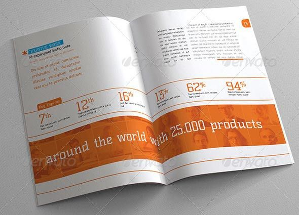 20+ Professional InDesign Annual Report Templates – Desiznworld