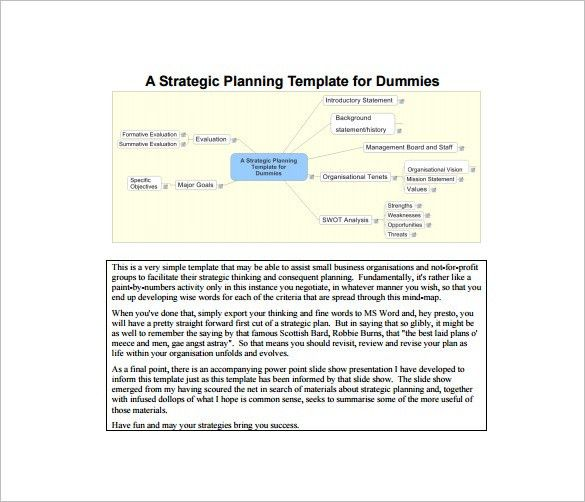 Strategic Plan Template – 14+ Free Word, PDF Documents Download ...