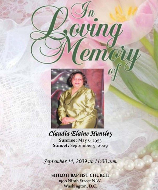 17+ Funeral Program Templates | Free & Premium Templates