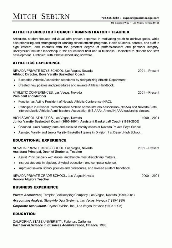 Baseball Resume For College - Best Resume Collection