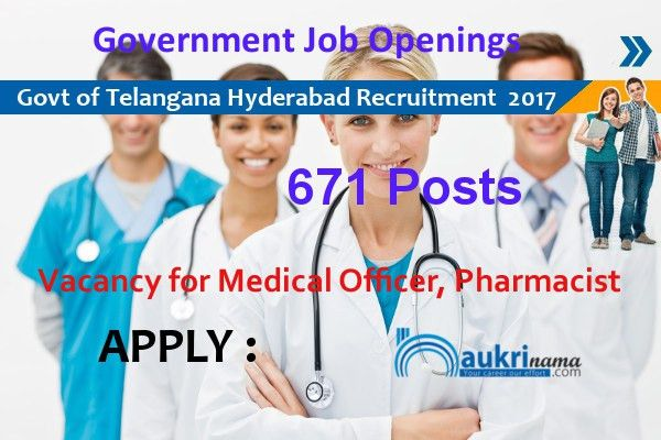 671 Medical Officer and Lab Technician Jobs 2017 in Government of ...