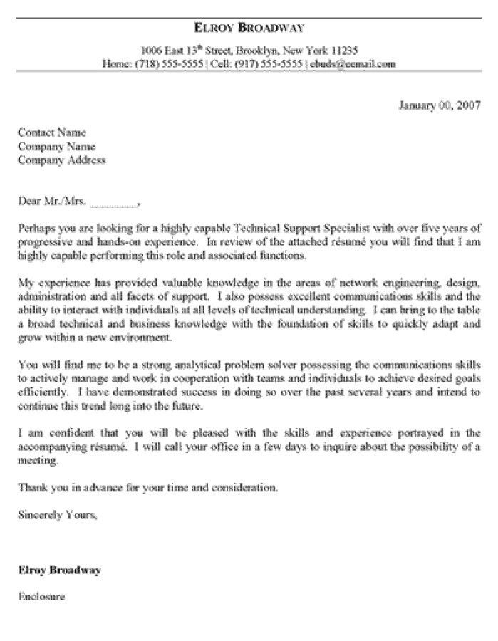 free printable cover letters