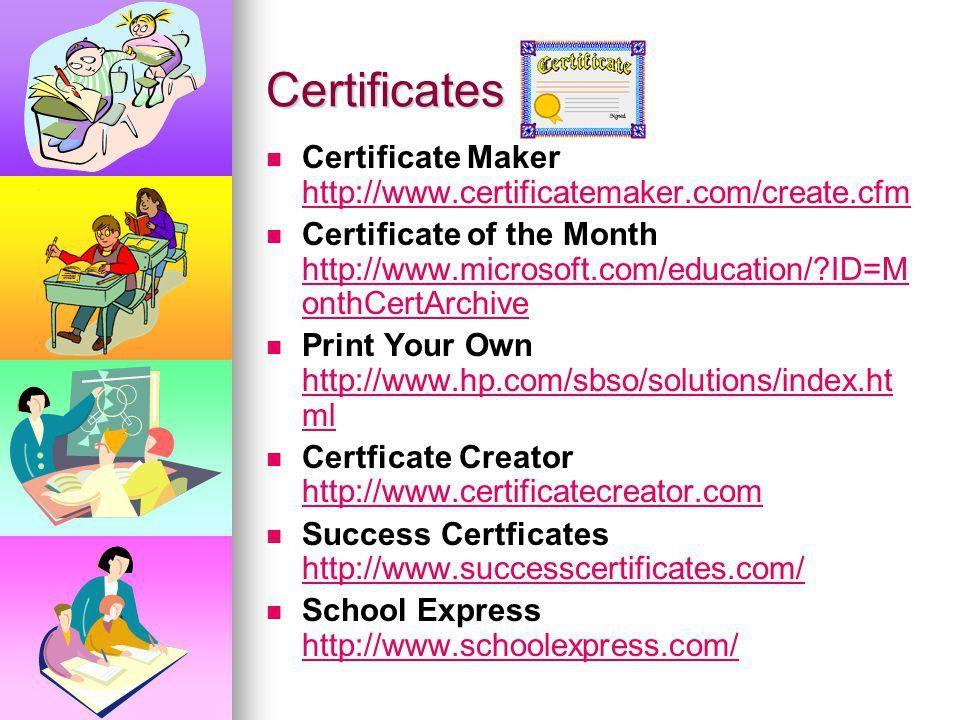 Microsoft Certificate Maker - formats.csat.co