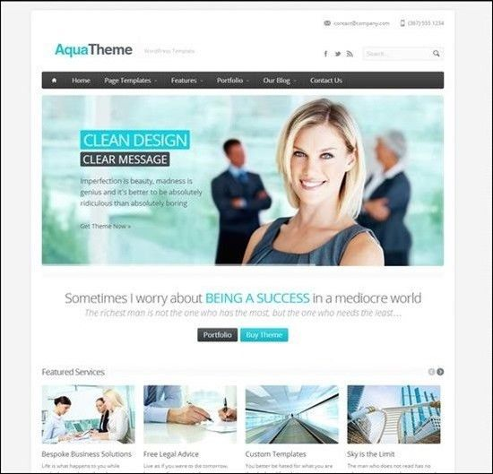 WordPress Templates Business   http://webdesign14.com/