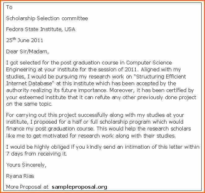 12+ scholarship application letter sample - Budget Template Letter
