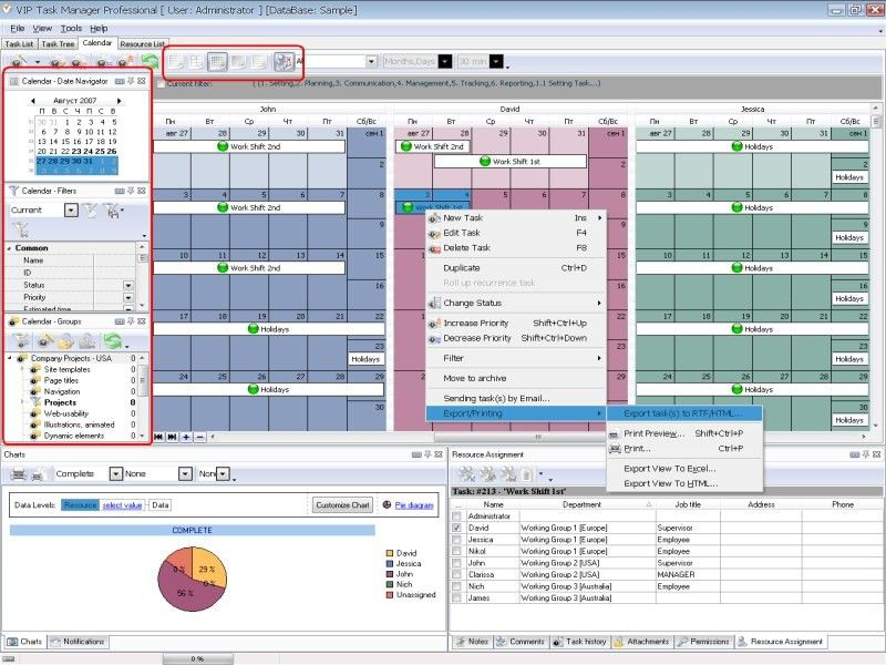 Business calendar software for new and mature businesses