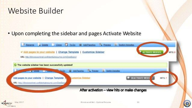 video resume and website builder - Resume Website Builder