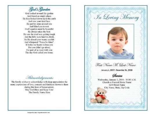 17 Obituary Template Samples | Templates Assistant