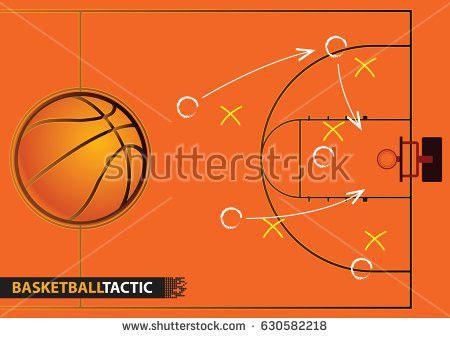 Basketball Playbook Vector - Download Free Vector Art, Stock ...