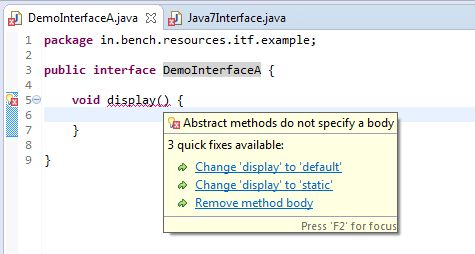 Interview Question and Answers on Java Interface - BenchResources.Net