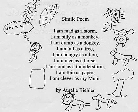 Best 25+ Simile poems ideas on Pinterest | Simile, Color poem and ...