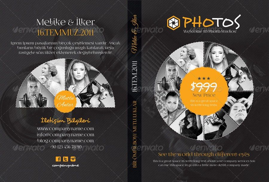 Photography Dvd Cover Templates by grafilker02 | GraphicRiver