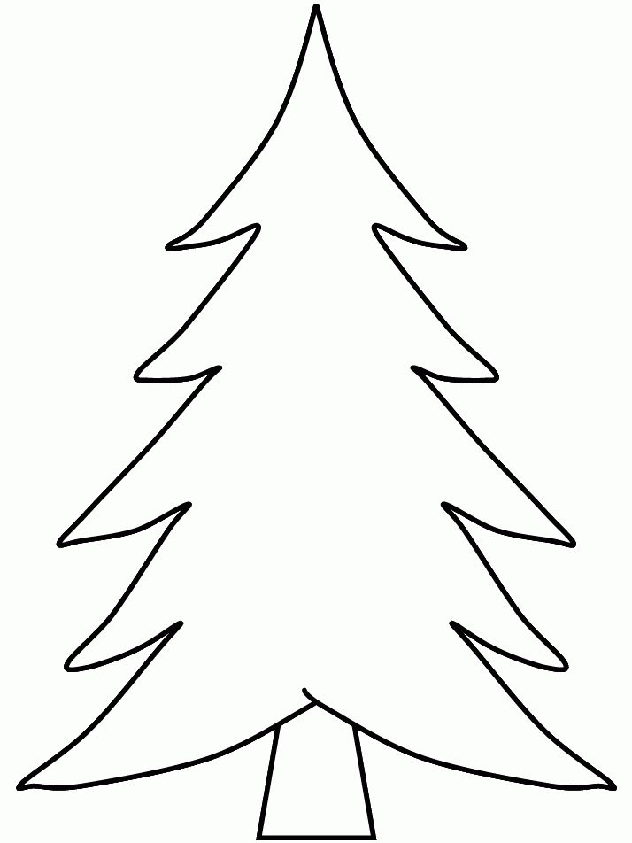 Christmas trees printable coloring pages | Best Coloring Pages ...