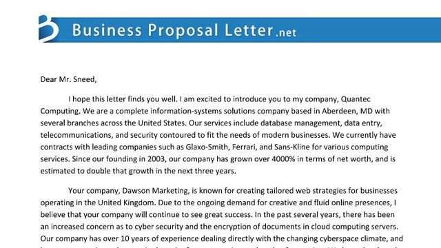 proposal letter | Tumblr
