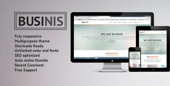 Businis - Responsive Blogger Templates by minhanh | ThemeForest