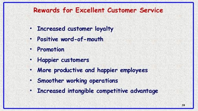 Selling skills and customer satisfaction