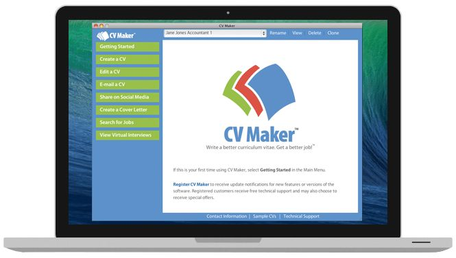 Write a Better Resume: CV Maker for Mac | Individual Software