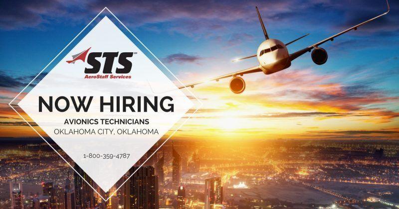 STS Now Offers Avionics Technician Jobs in Oklahoma City, Oklahoma