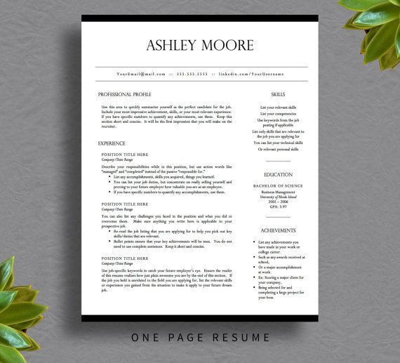 81 best Resume Ideas images on Pinterest | Resume ideas, Cv ...
