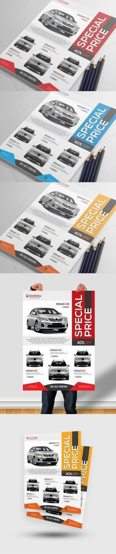Car Dealer Flyer / Magazine Ad | Magazine ads, Magazines and Cars