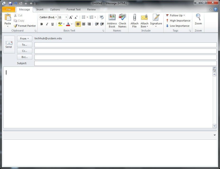 "How-To""…Send an HTML e-mail from Outlook 2010 (update – works for ..."